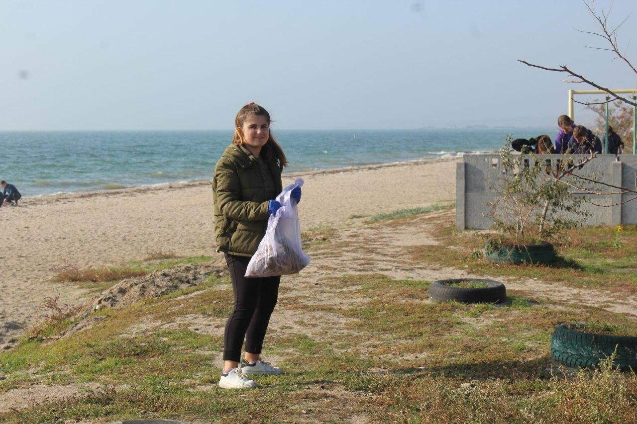 Бердянская молодёжь за чистые пляжи , фото-12