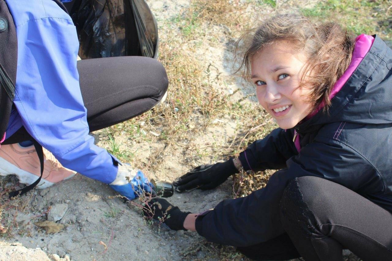 Бердянская молодёжь за чистые пляжи , фото-14