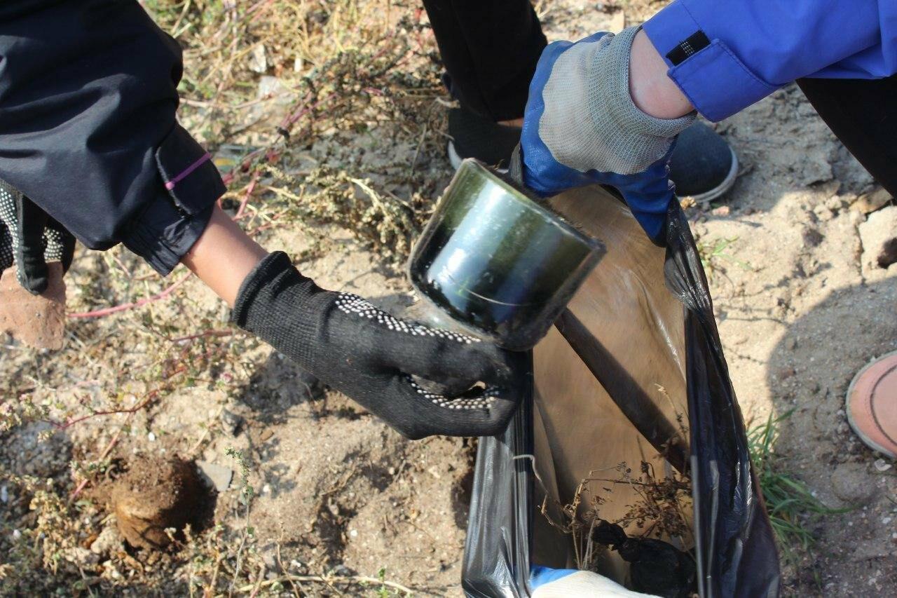 Бердянская молодёжь за чистые пляжи , фото-15