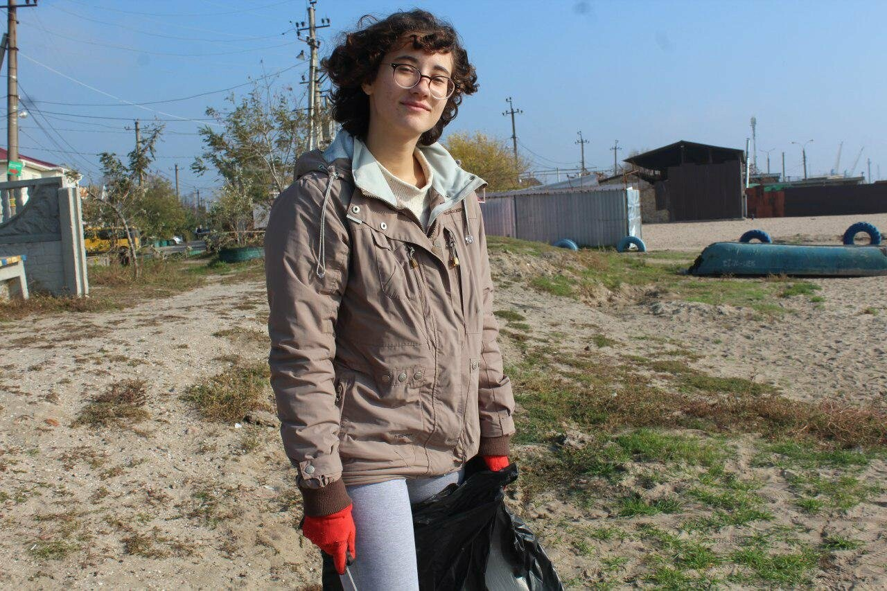 Бердянская молодёжь за чистые пляжи , фото-17
