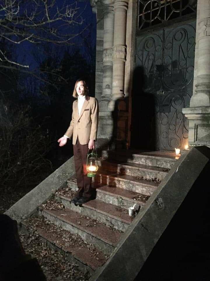 """Экскурсия на кладбище, """"встреча"""" с умершими  в Бердянске, фото-8"""