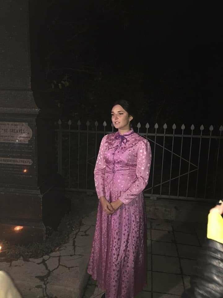"""Экскурсия на кладбище, """"встреча"""" с умершими  в Бердянске, фото-9"""