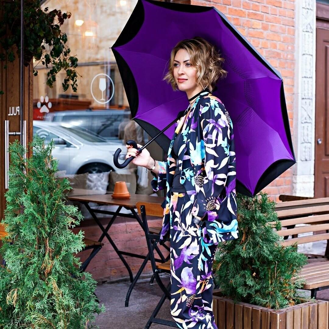 Аксессуар необходимый в любое время года - зонт Up-brella!, фото-1