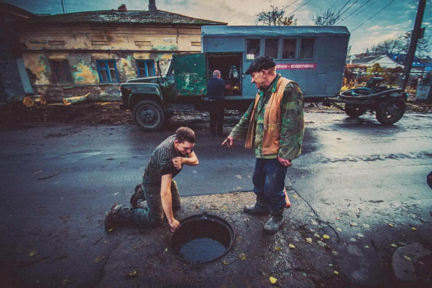 Трудовые будни работников горводоканала (шок-фото), фото-6