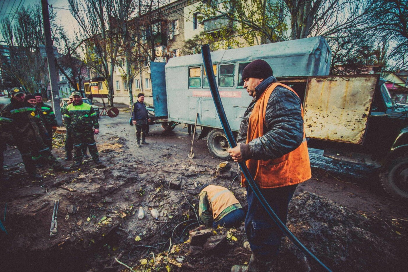 Трудовые будни работников горводоканала (шок-фото), фото-11