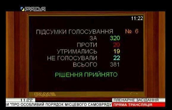 Закон об особом статусе Донбасса - продлен, фото-1