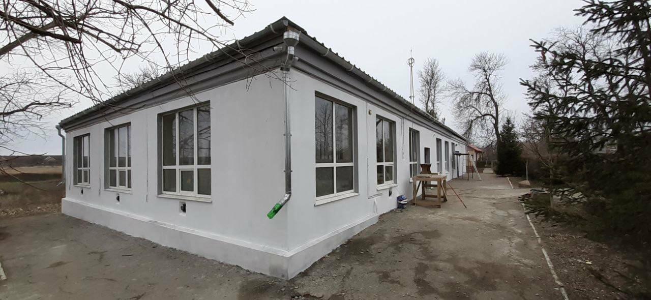 В поселке Роза заканчивают ремонт фасада дома культуры, фото-2