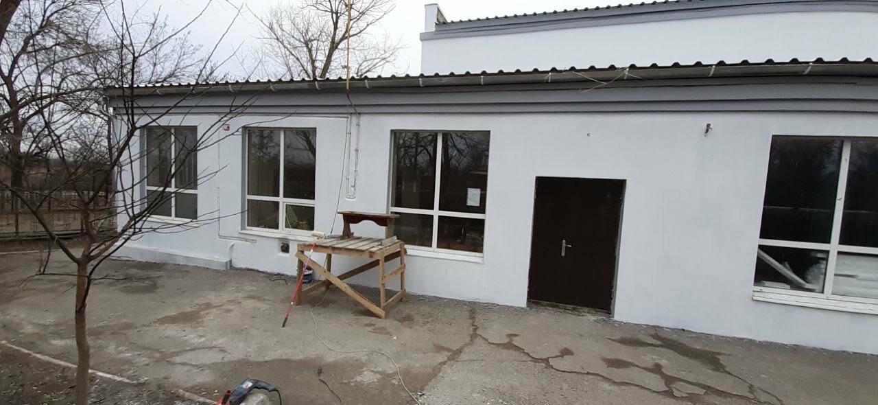 В поселке Роза заканчивают ремонт фасада дома культуры, фото-3