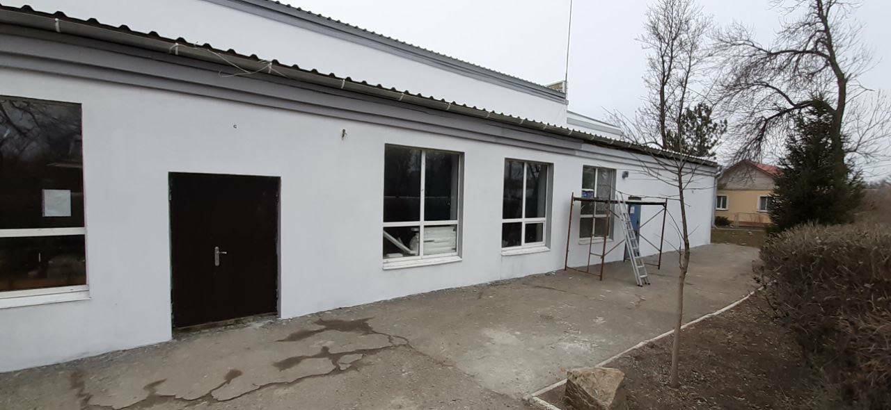 В поселке Роза заканчивают ремонт фасада дома культуры, фото-4