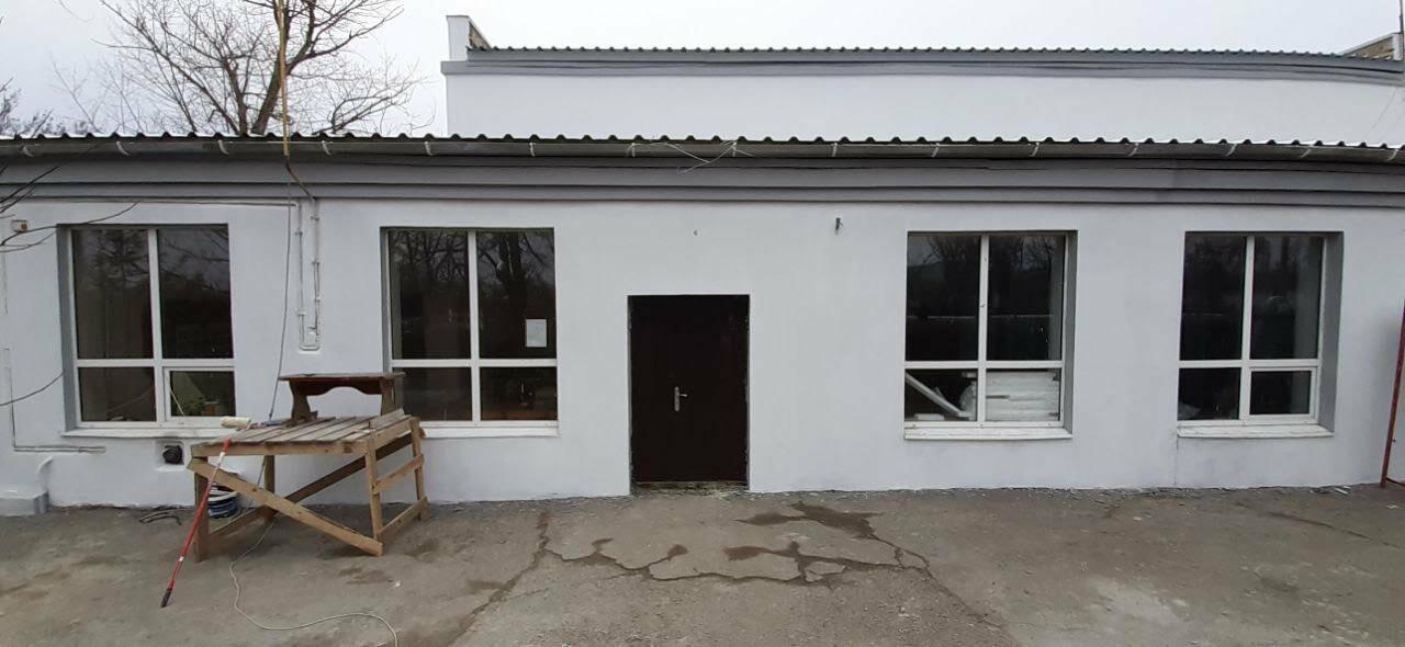 В поселке Роза заканчивают ремонт фасада дома культуры, фото-5