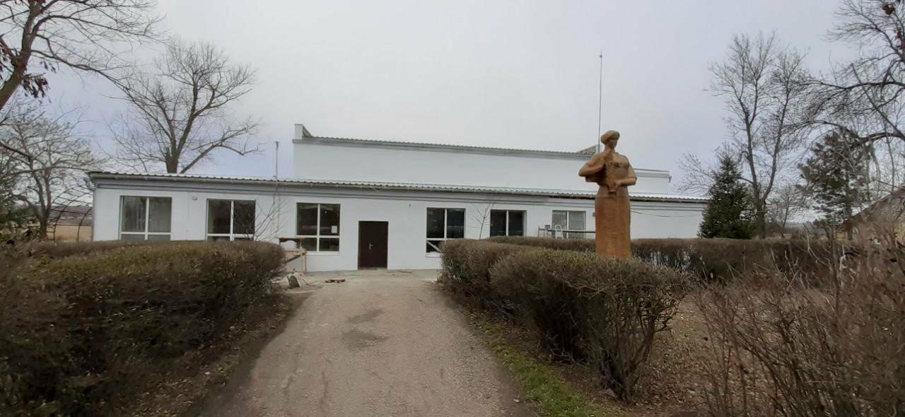 В поселке Роза заканчивают ремонт фасада дома культуры, фото-6