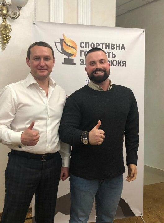 Владимира Моисея наградили за особый вклад в воодушевление спортсменов, фото-1