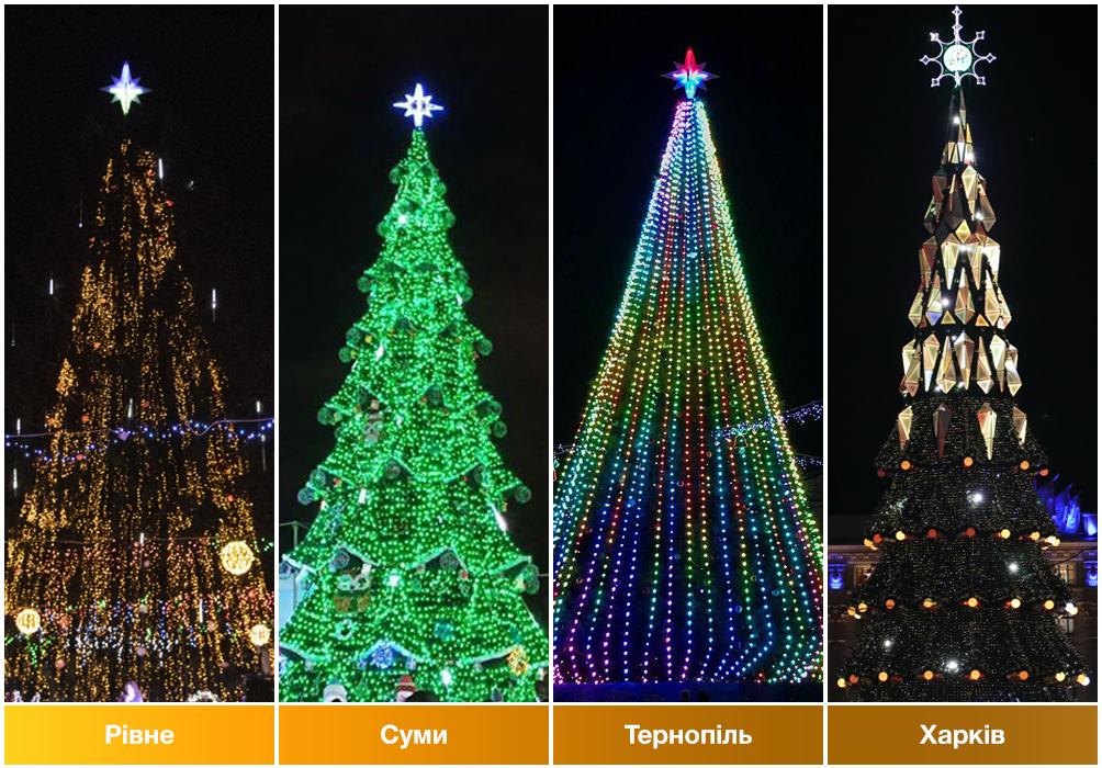 В каком из городов Украины самая красивая ёлка?, фото-6