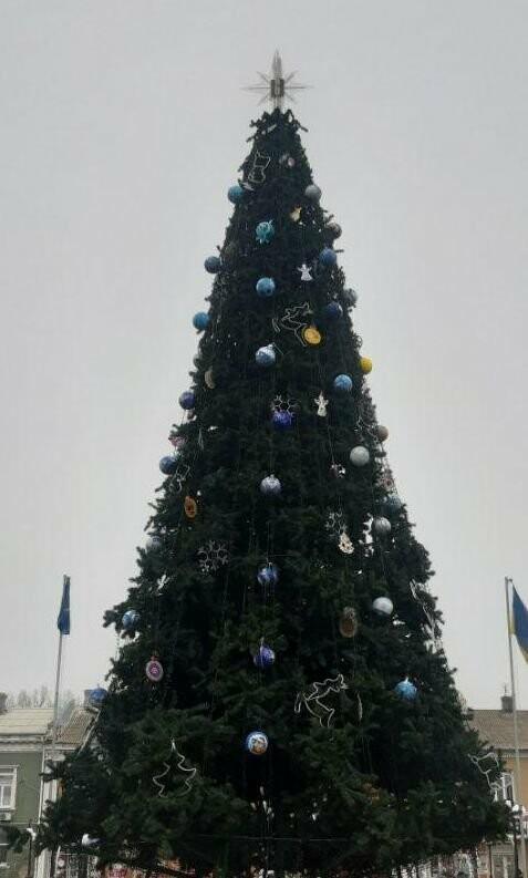 В каком из городов Украины самая красивая ёлка?, фото-1