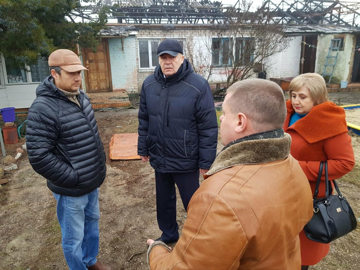 Пострадавшим при пожаре на ул. Котляревського выделят деньги на восстановление жилья, фото-6