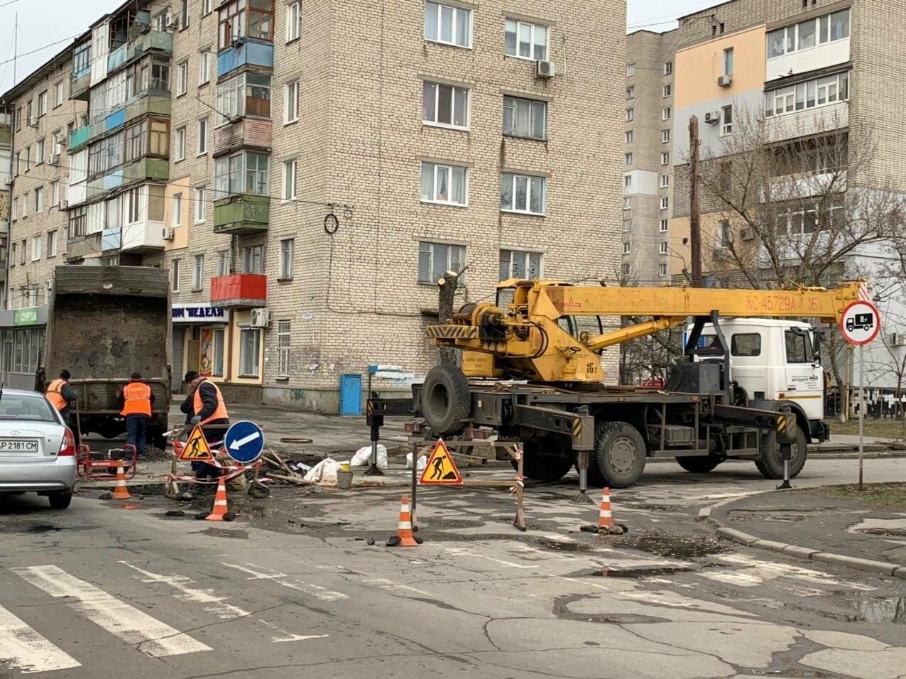 Увага! Обмежено рух у центрі Бердянська, - фото, фото-3