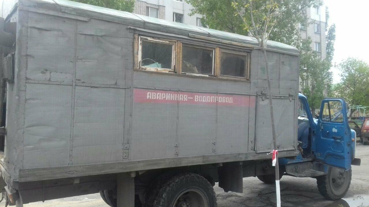 Перекрытие улиц в центре Бердянска, - ФОТО, фото-2