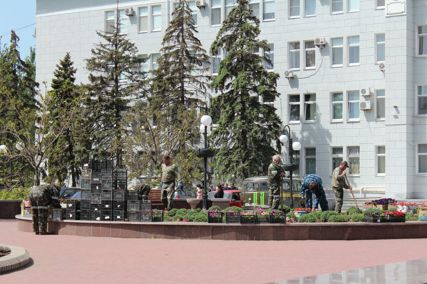 «Зеленхоз» облагораживает центр Бердянска, - ФОТО, фото-9