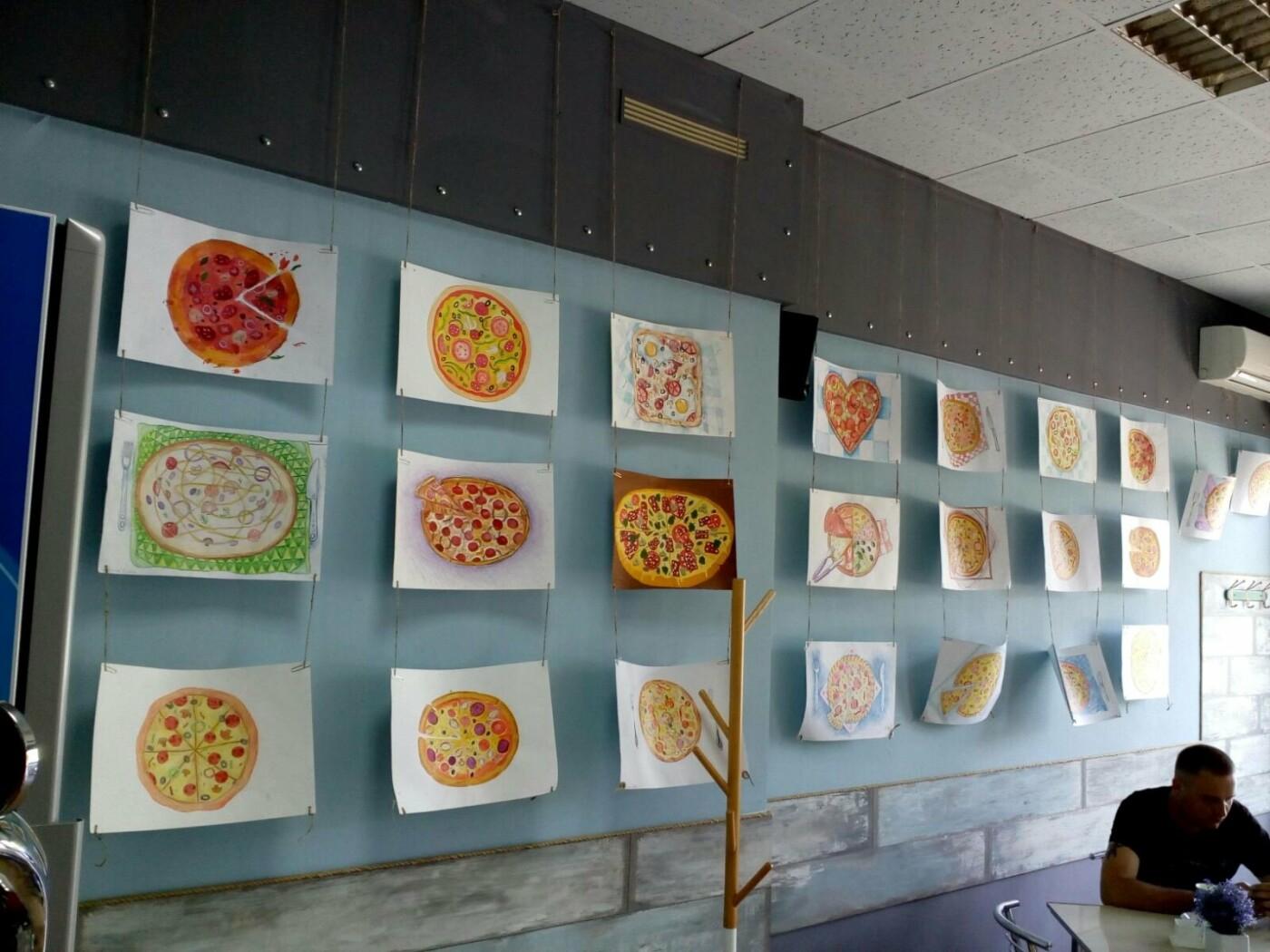 Юные художники Бердянска показали как разнообразно может выглядеть пицца, фото-2