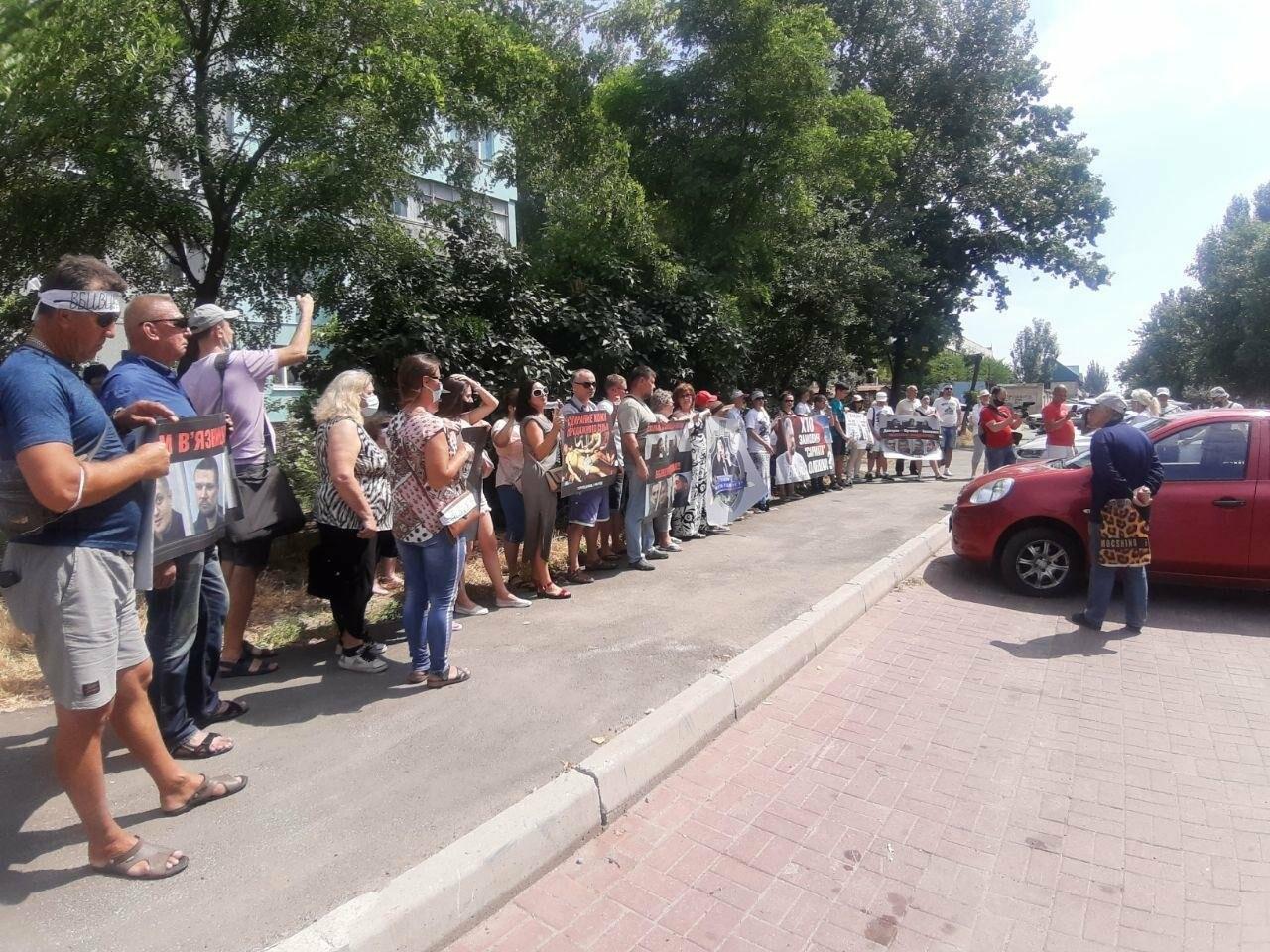"""""""Нас насилует эта система"""": протест в Бердянске по делу Сармата, - ФОТО, ВИДЕО, фото-2"""