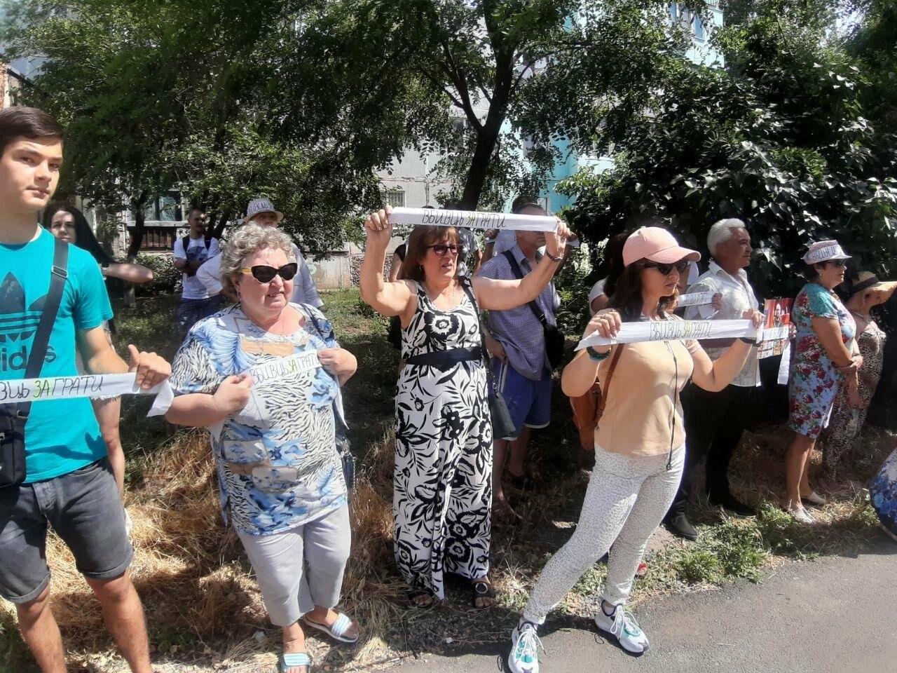 """""""Нас насилует эта система"""": протест в Бердянске по делу Сармата, - ФОТО, ВИДЕО, фото-18"""