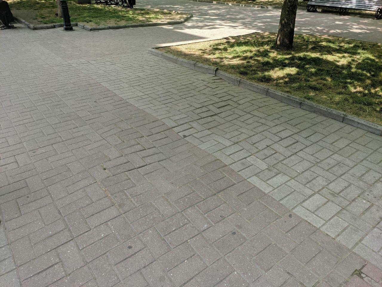 Центр Бердянска будет с ровными пешеходными зонами, фото-4