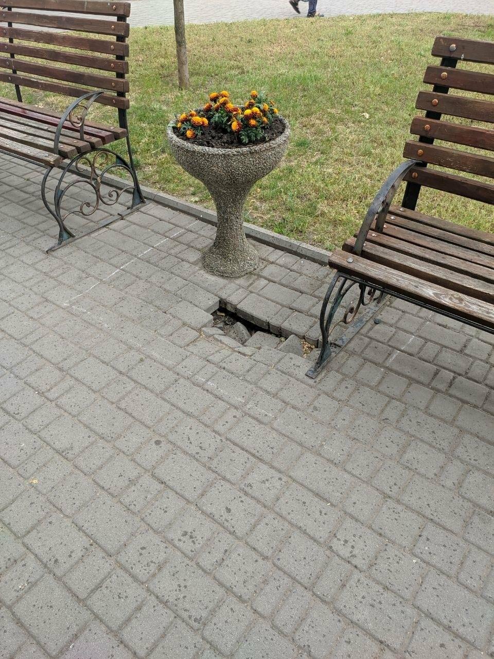 Центр Бердянска будет с ровными пешеходными зонами, фото-5