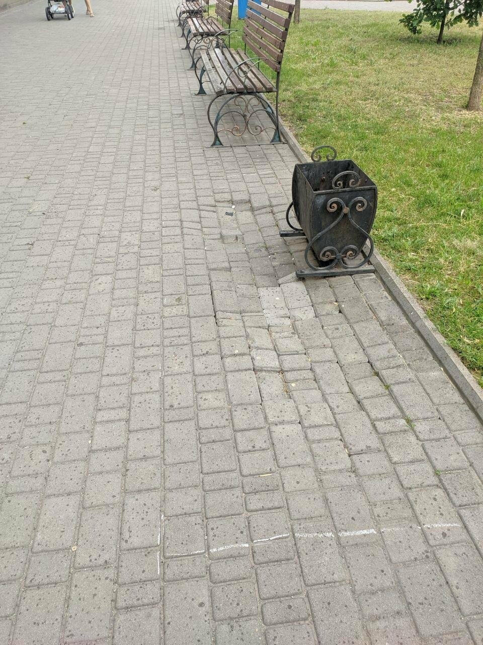 Центр Бердянска будет с ровными пешеходными зонами, фото-7