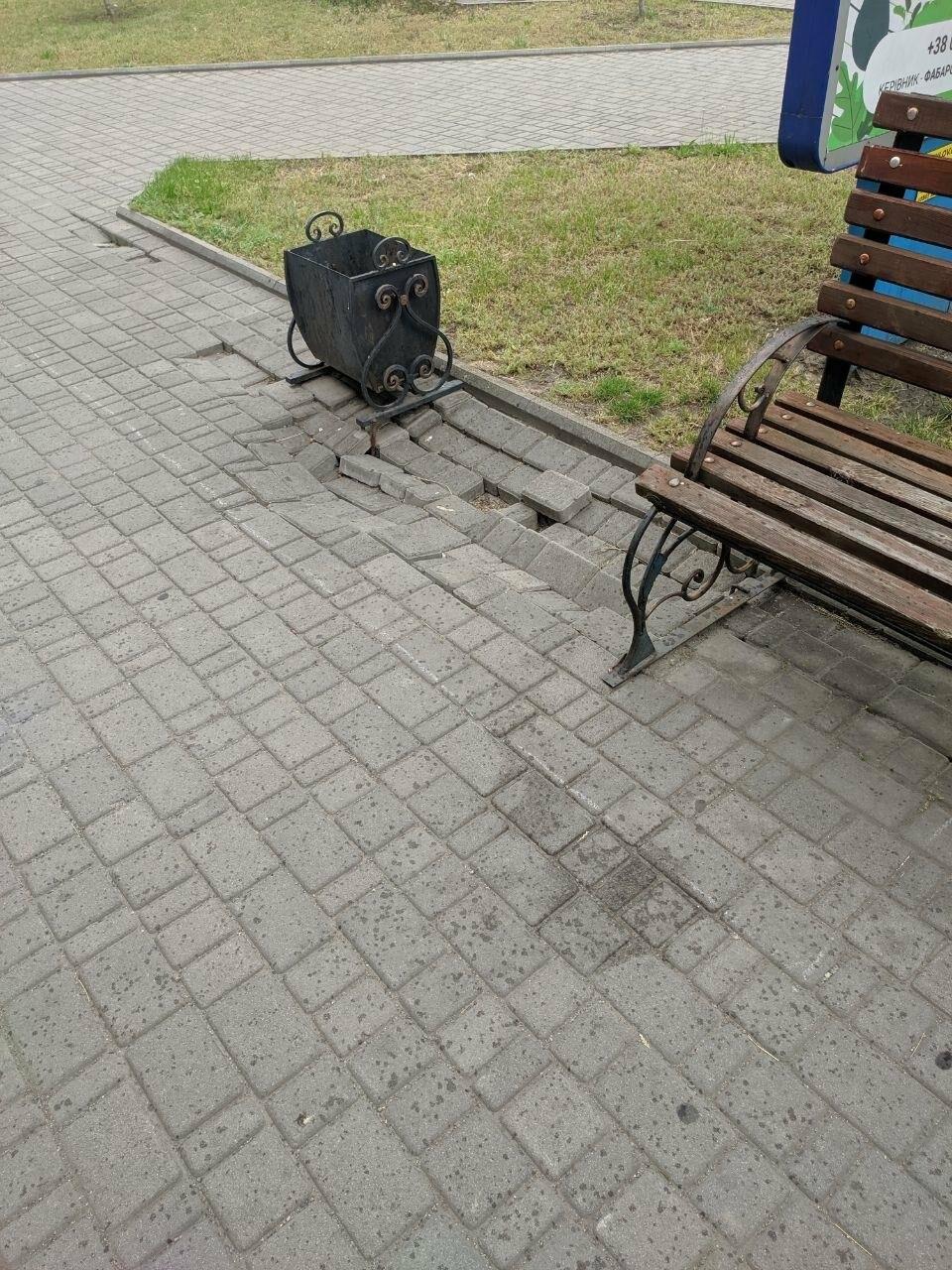 Центр Бердянска будет с ровными пешеходными зонами, фото-6