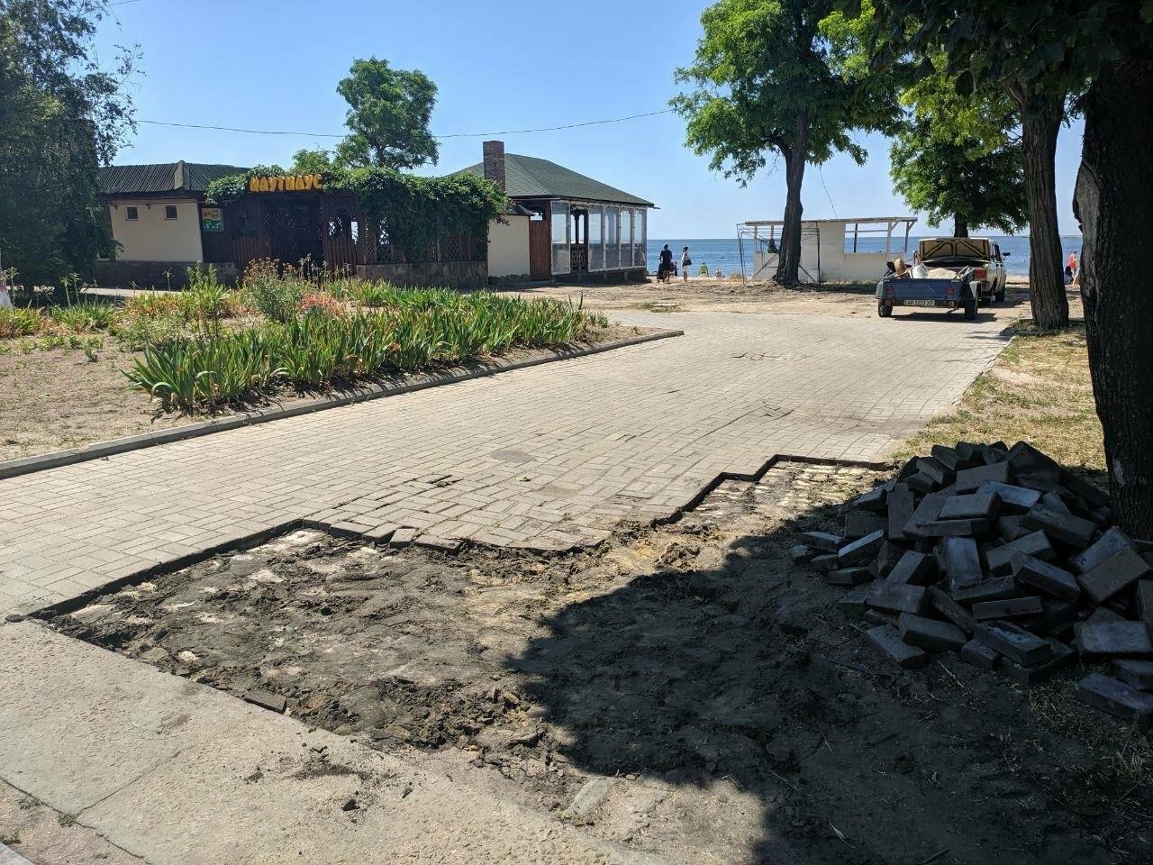 Центр Бердянска будет с ровными пешеходными зонами, фото-3