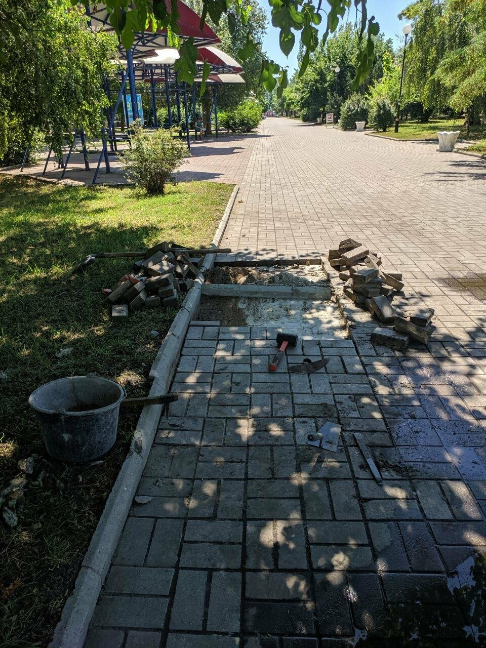 Центр Бердянска будет с ровными пешеходными зонами, фото-2