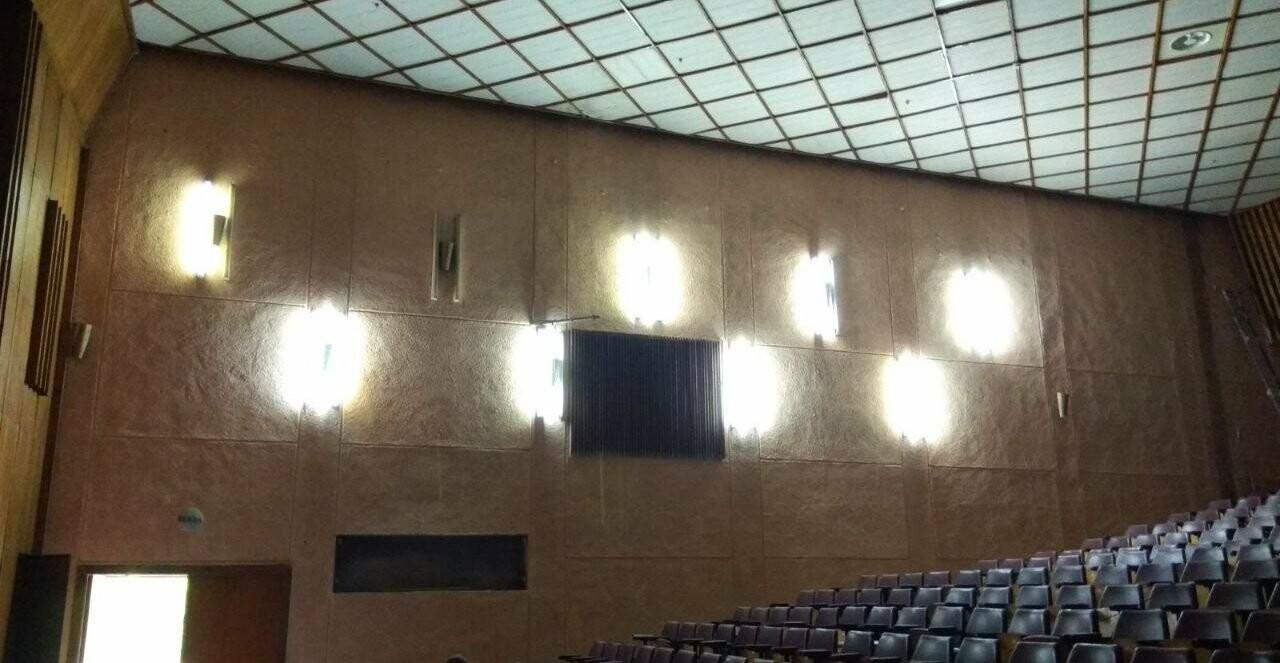 Масштабные ремонтные работы в малом зале бердянского ГДК, фото-8