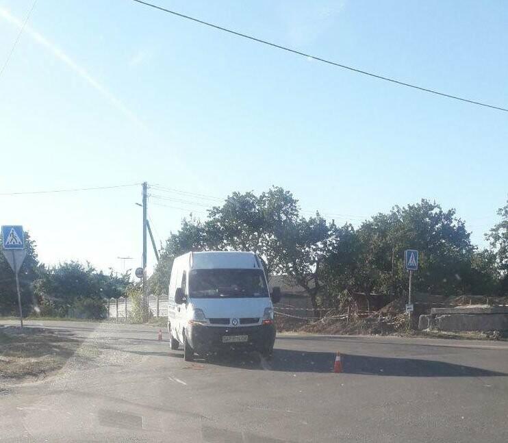 В Бердянске бус врезался в жигуль, фото-2