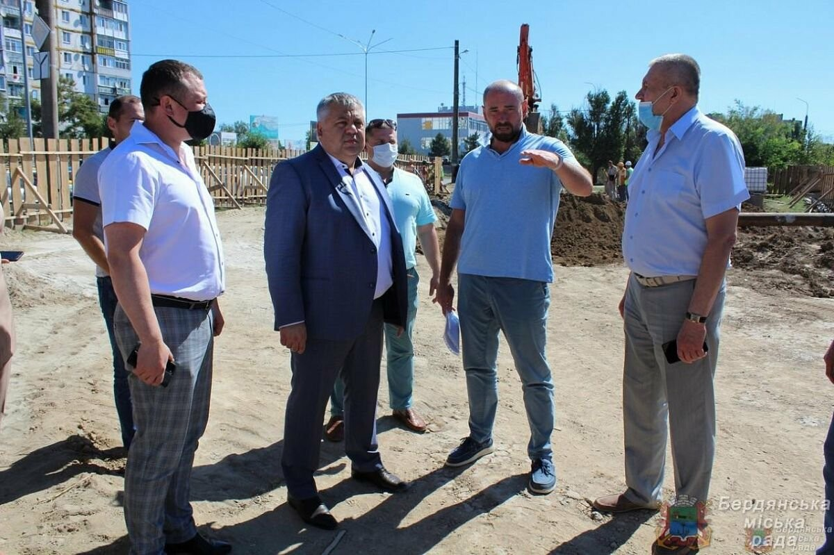 С рабочим визитом Бердянск посетил глава ОГА Виталий Боговин, фото-2