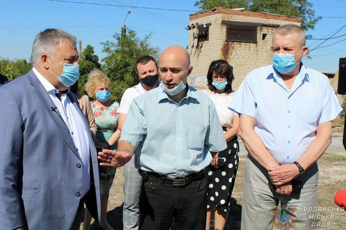 С рабочим визитом Бердянск посетил глава ОГА Виталий Боговин, фото-6