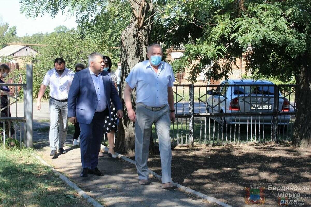 С рабочим визитом Бердянск посетил глава ОГА Виталий Боговин, фото-9