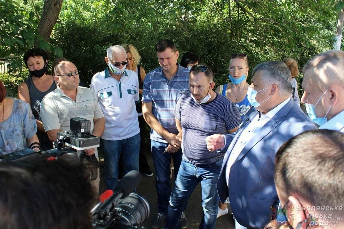 С рабочим визитом Бердянск посетил глава ОГА Виталий Боговин, фото-4