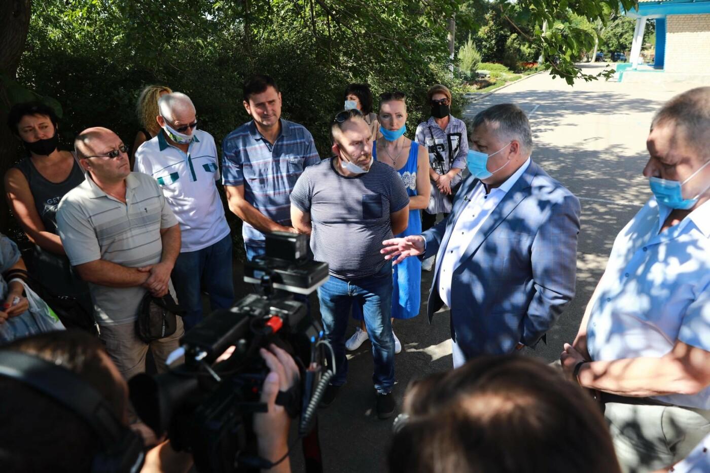 """Виталий Боговин в Бердянске: """"Отключения газа не будет!"""", фото-6"""
