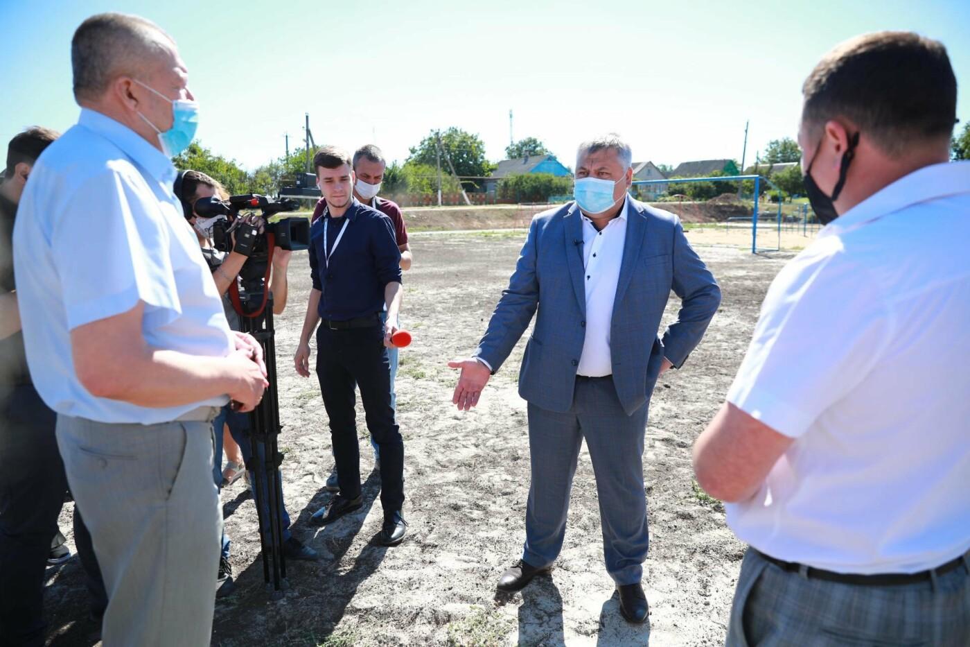"""Виталий Боговин в Бердянске: """"Отключения газа не будет!"""", фото-1"""