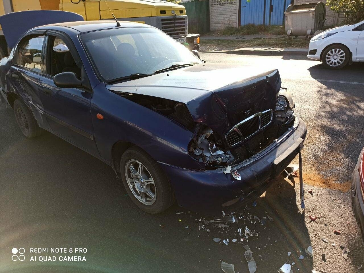 В Бердянске столкнулись два автомобиля, фото-1
