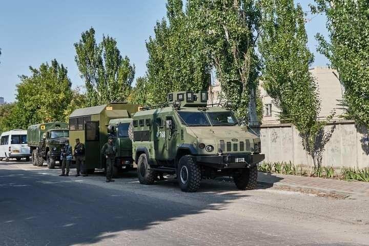 Антитеррористические учения в Бердянске (фото), фото-1