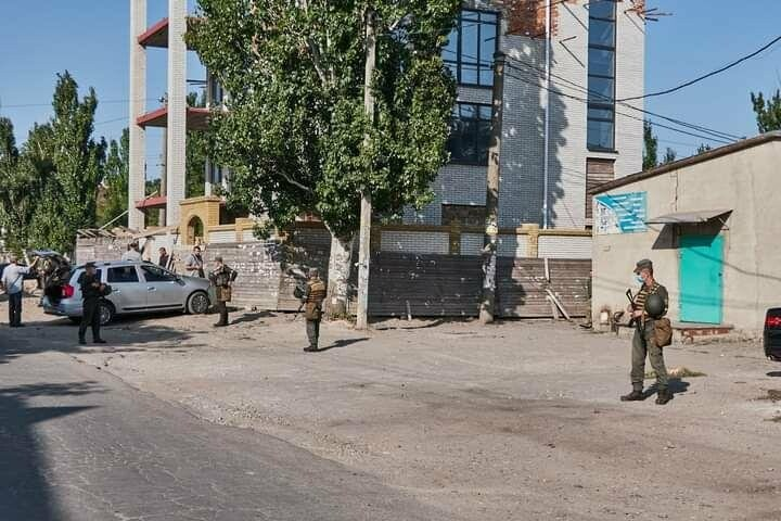 Антитеррористические учения в Бердянске (фото), фото-3