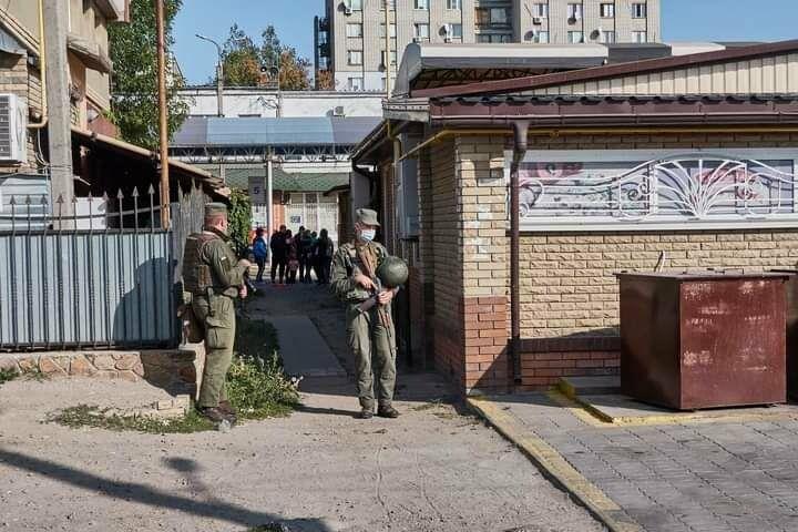 Антитеррористические учения в Бердянске (фото), фото-4