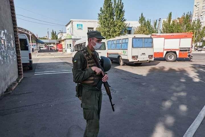 Антитеррористические учения в Бердянске (фото), фото-9
