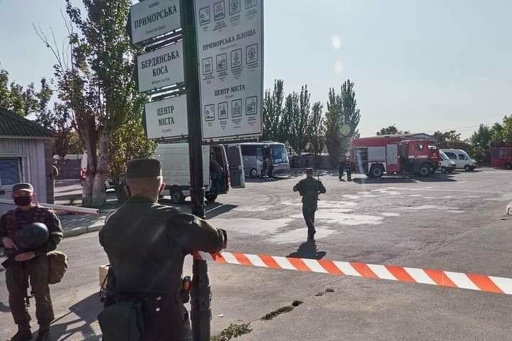 Антитеррористические учения в Бердянске (фото), фото-13