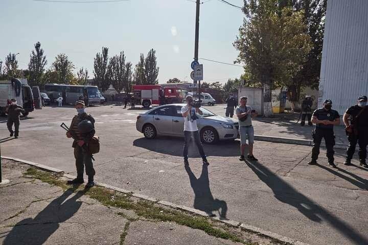 Антитеррористические учения в Бердянске (фото), фото-14