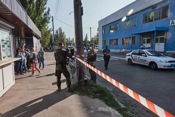 Антитеррористические учения в Бердянске (фото), фото-16