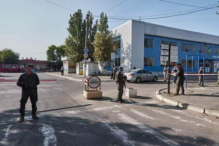 Антитеррористические учения в Бердянске (фото), фото-17