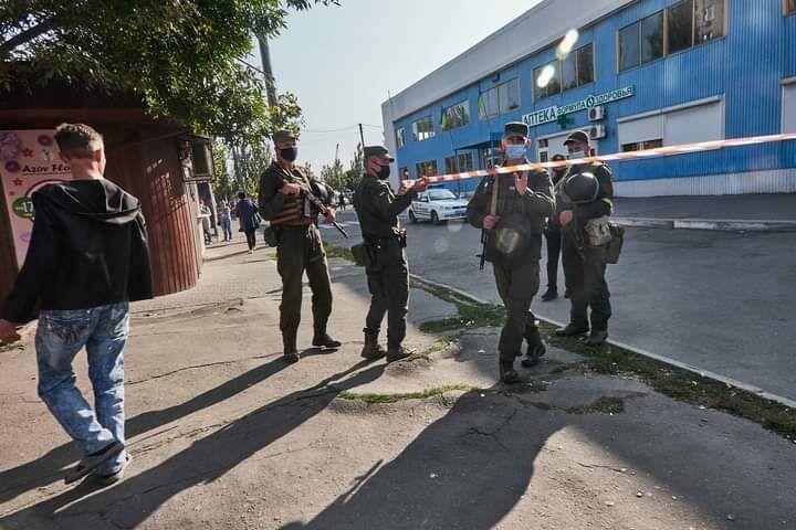Антитеррористические учения в Бердянске (фото), фото-18