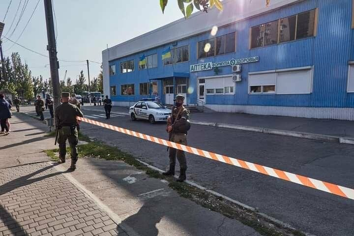 Антитеррористические учения в Бердянске (фото), фото-23